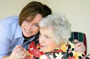 Louisiana Ombudsman - Elderly Woman and Caregiver