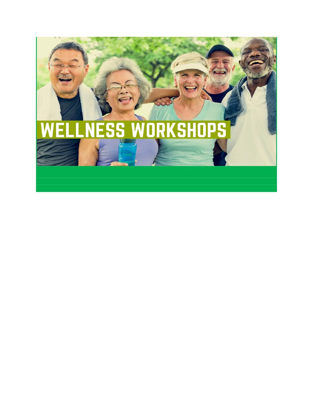 Wellness Workshops