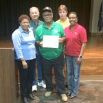 Ms. Merrick, Mr. Vallet, the most active senior Mr. Charles Ray Sanders, Mr. Jewell and Ms. Siplin
