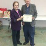 Daisy-Calahan-on-behalf-of-Mrs.-Rena-Day---the-Oldest-Senior