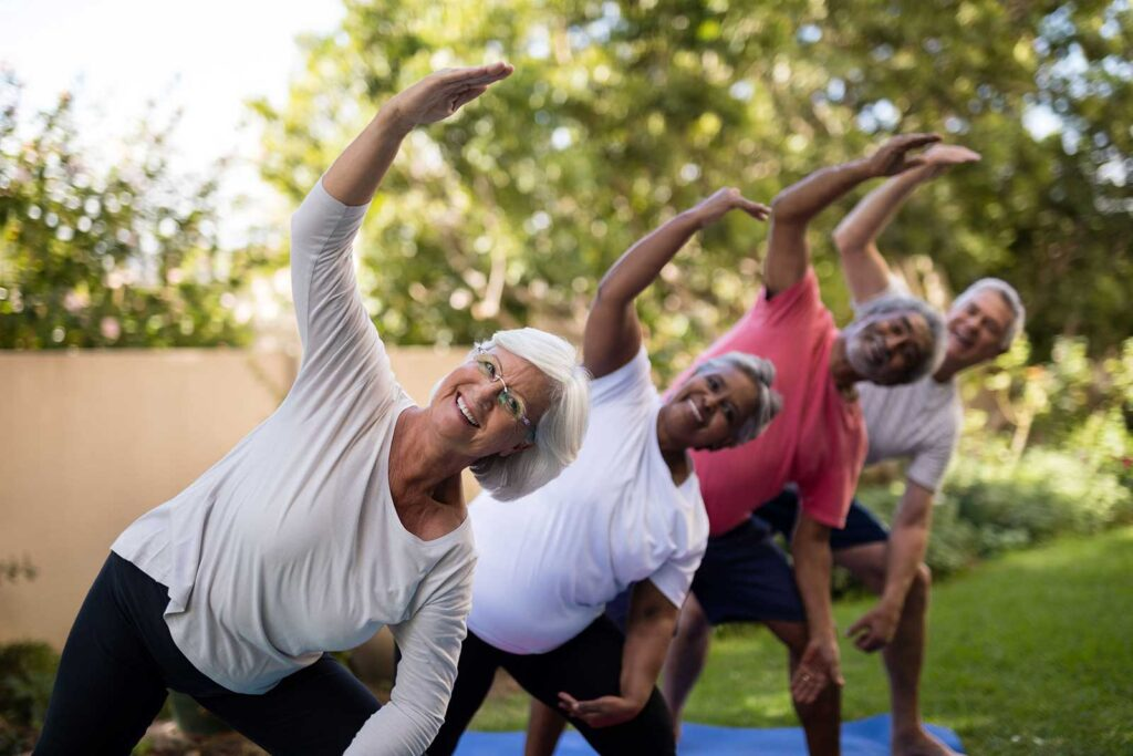Senior Citizen Health and Wellness Classes